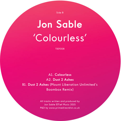 Jon Sable/COLOURLESS 12""
