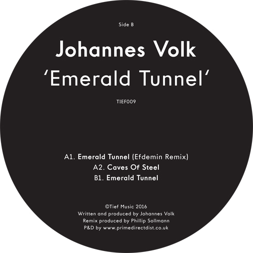 Johannes Volk/EMERALD TUNNEL 12""
