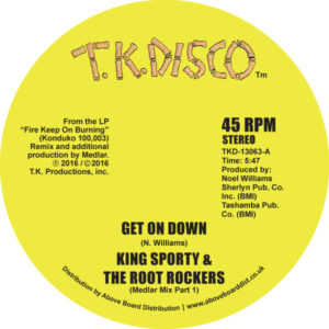 "King Sporty/GET ON DOWN (MEDLAR RMX) 12"""