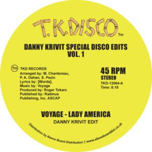 """Danny Krivit/SPECIAL DISCO EDITS V1 12"""""""