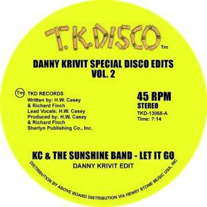 """Danny Krivit/SPECIAL DISCO EDITS V2 12"""""""