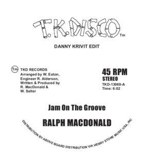 "Ralph MacDonald/JAM ON.. (D. KRIVIT) 12"""