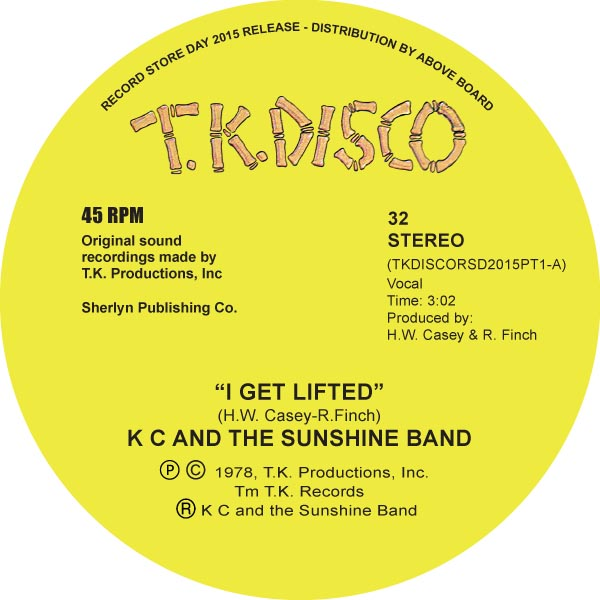 KC & The Sunshine Band/TERJE EDIT 1 10""