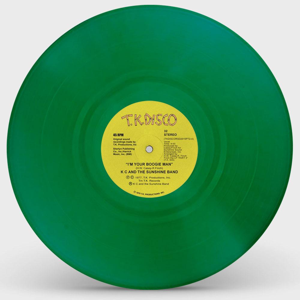 """KC & The Sunshine Band/TERJE GREEN 2 10"""""""