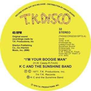 "KC & The Sunshine Band/TERJE EDIT 2 10"""