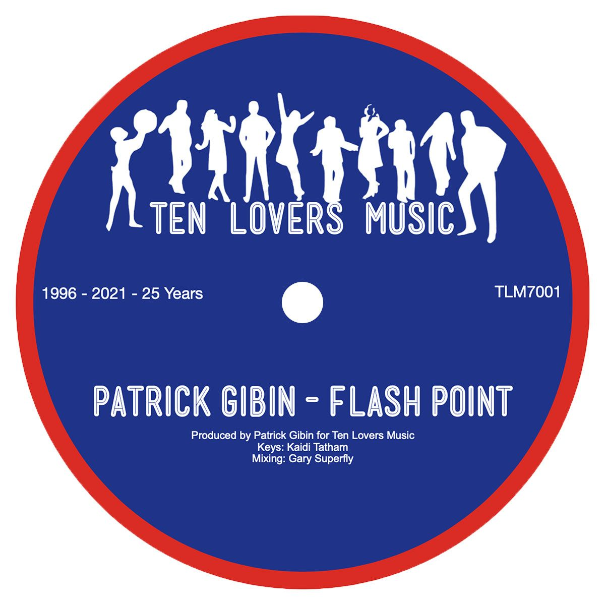 "Patrick Gibin/FLASH POINT 7"""