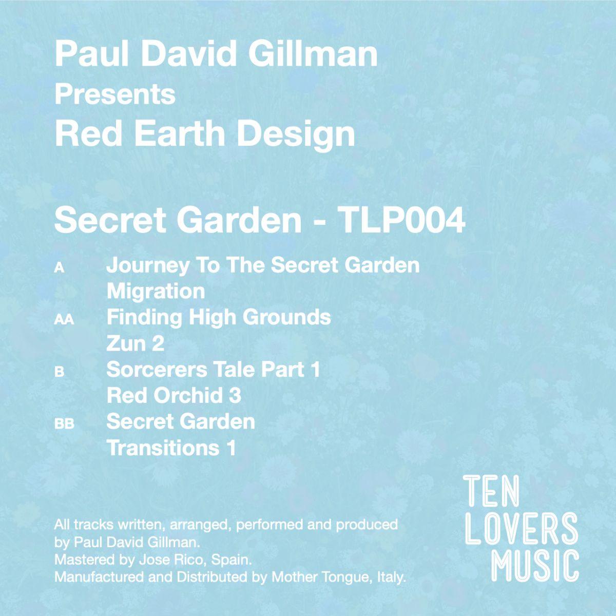 Red Earth Design/SECRET GARDEN DLP