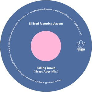 "Si Brad ft. Azeem/FALLING DOWN 12"""