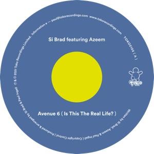 "Si Brad ft. Azeem/AVENUE 6 12"""