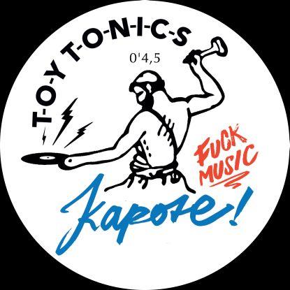 """Kapote/F*CK MUSIC (2022 REPRESS) 12"""""""