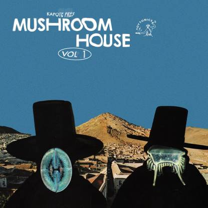 Various/MUSHROOM HOUSE VOL. 1 DLP + MAG
