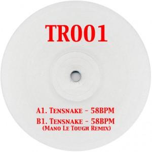 """Tensnake/58 BPM-MANO LE TOUGH REMIX 12"""""""
