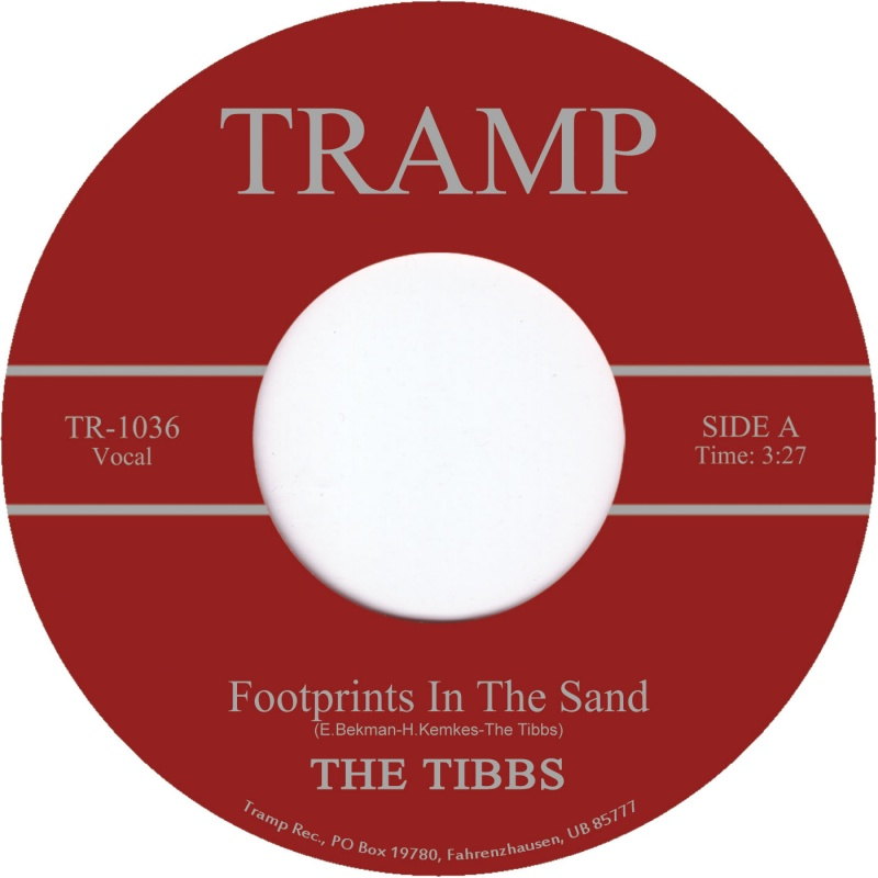 """Tibbs, The/FOOTPRINTS IN THE SAND 7"""""""