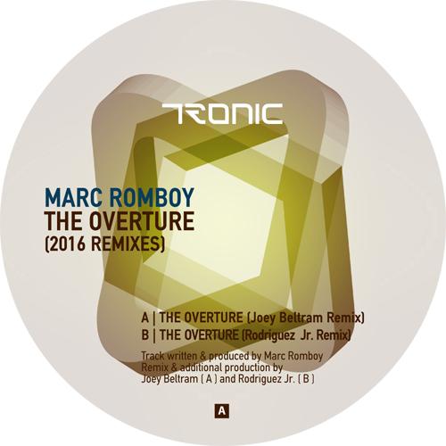 """Marc Romboy/THE OVERTURE -2016 RMX'S 12"""""""
