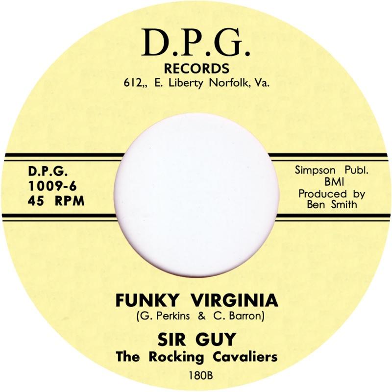 """Sir Guy/FUNKY VIRGINIA 7"""""""