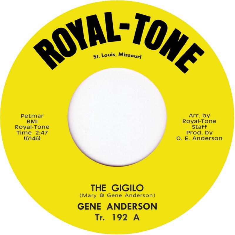 """Gene Anderson/THE GIGOLO 7"""""""