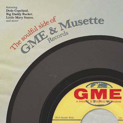 Various/SOULFUL SIDE OF GME & MUSETTE LP