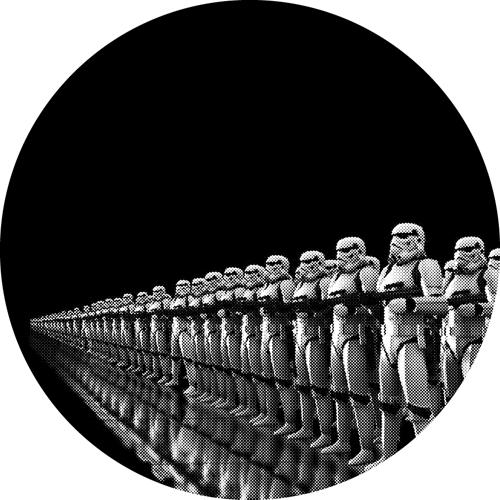 Stormtroopers/GLOW IN THE DARK SLIPMAT