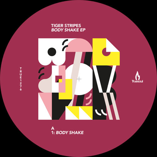 "Tiger Stripes/BODY SHAKE EP 12"""