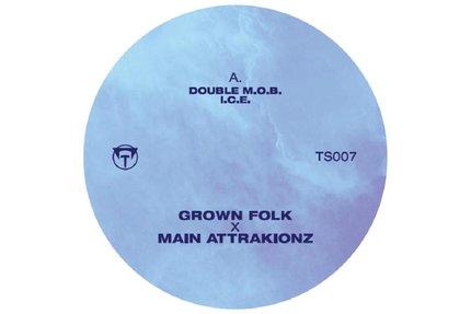 "Grown Folk & Main Attrakionz/C.C. EP 12"""