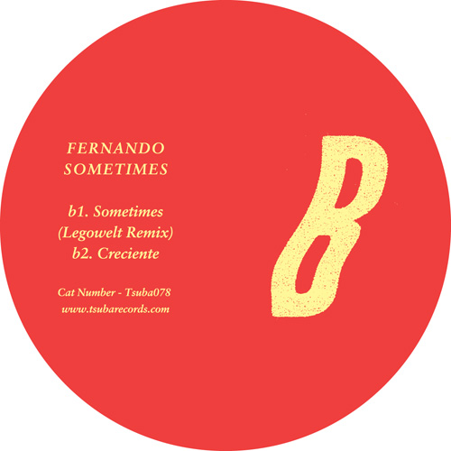 "Fernando/SOMETIMES (LEGOWELT REMIX) 12"""