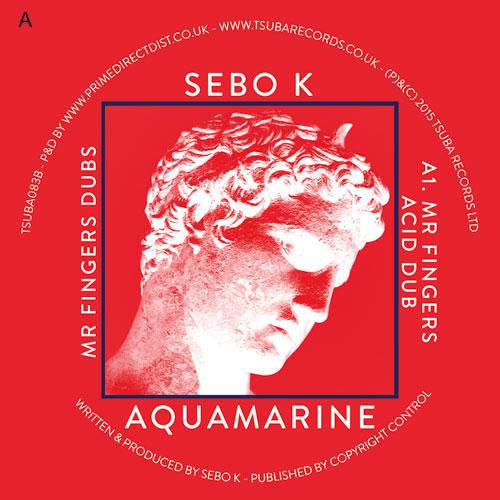 "Sebo K/AQUAMARINE (MR. FINGERS DUBS) 12"""