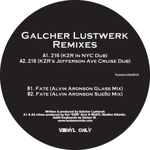 """Galcher Lustwerk/NU DAY REMIXES 12"""""""