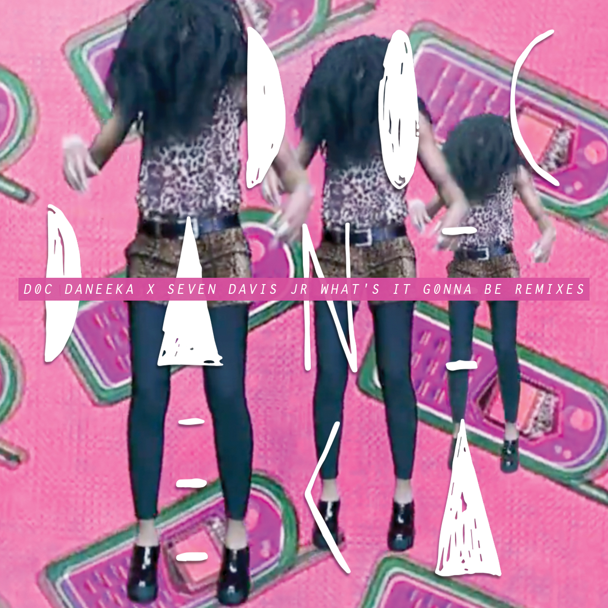 "Doc Daneeka & Seven Davis Jr/RMX EP 12"""