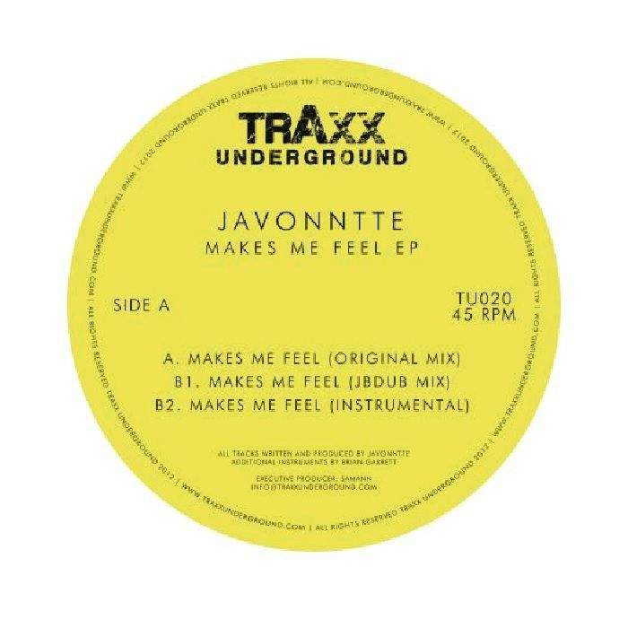 Javonntte/MAKES ME FEEL EP 12""