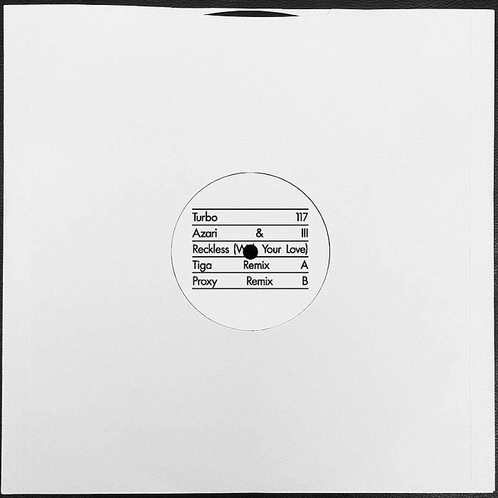 Azari & III/RECKLESS (TIGA REMIX) 12""
