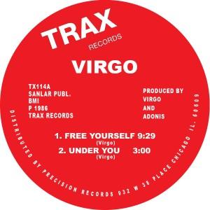 "Virgo/FREE YOURSELF 12"""
