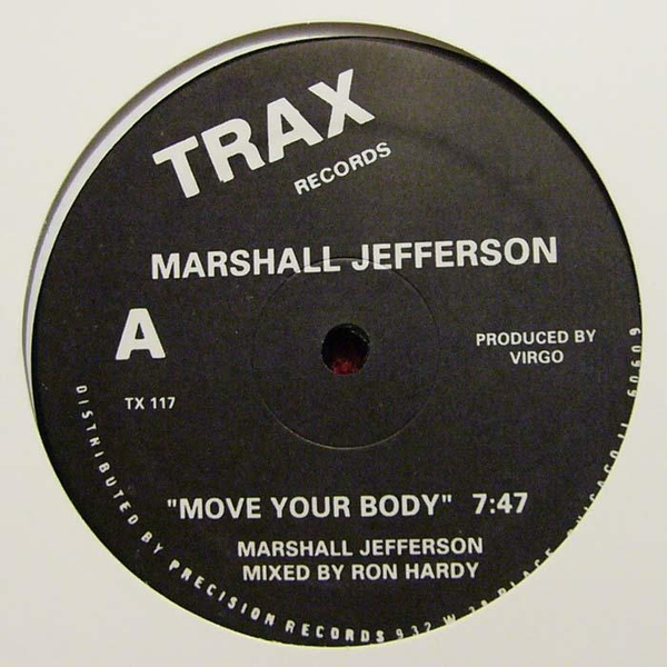 Marshall Jefferson/MOVE YOUR BODY 12""