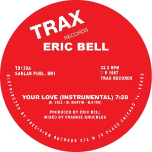 Eric Bell/YOUR LOVE 12""