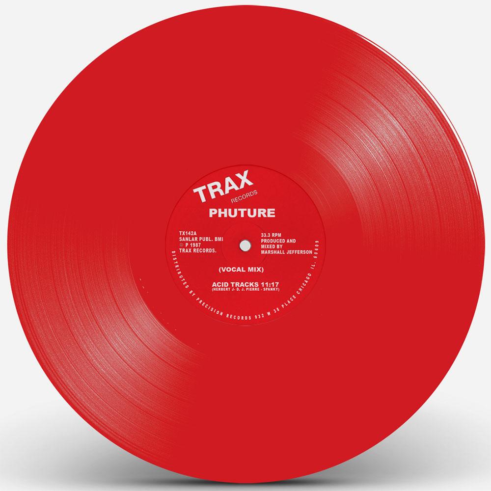"""Phuture/ACID TRACKS (RED VINYL) 12"""""""