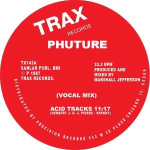 """Phuture/ACID TRACKS 12"""""""