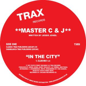 "Master C & J/IN THE CITY 12"""