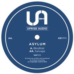 "Asylum/BLINDFOLD 12"""