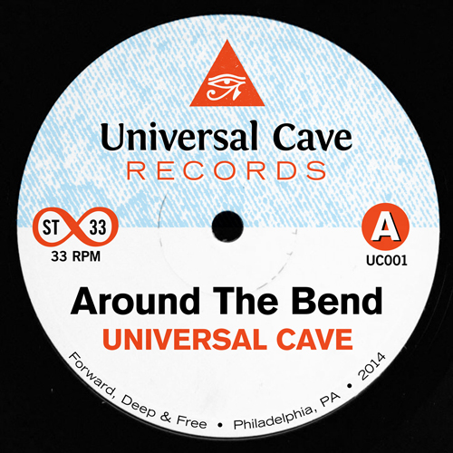 """Universal Cave/AROUND THE BEND 7"""""""