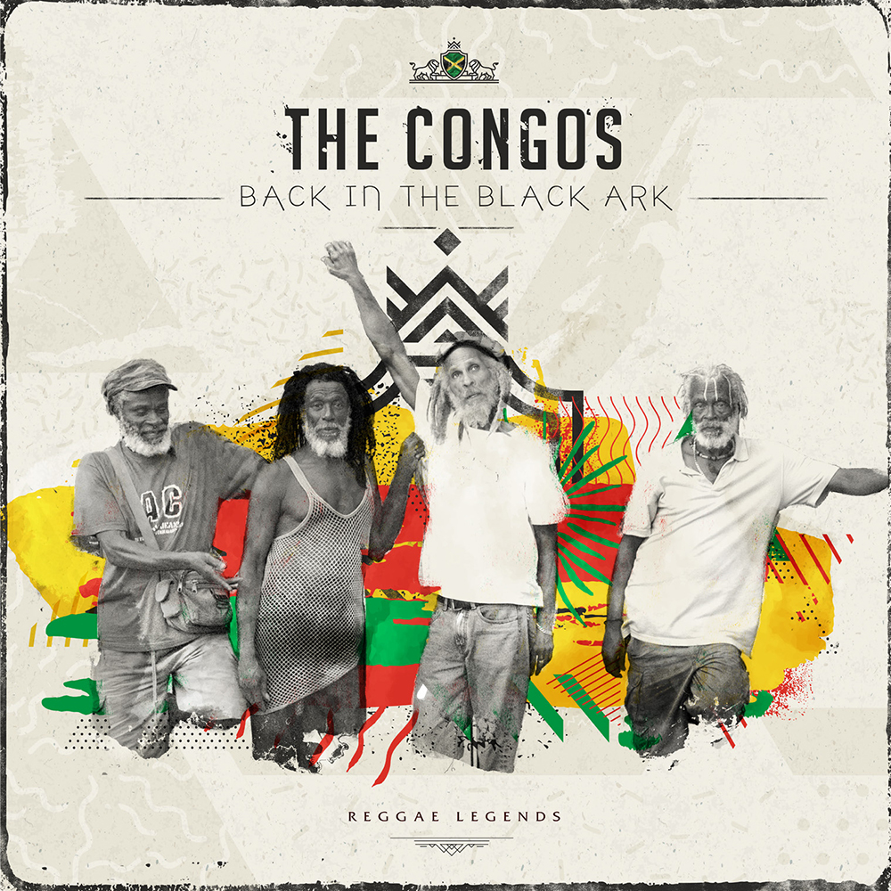 Congos/BACK IN THE BLACK ARK DLP