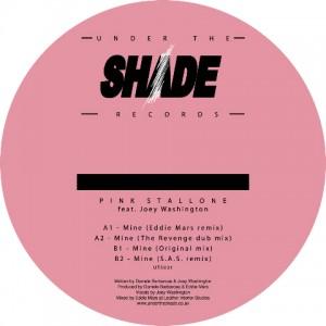 "Pink Stallone/MINE 12"""