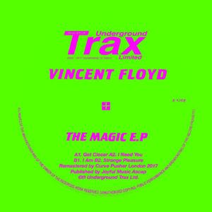 "Vincent Floyd/THE MAGIC EP 12"""