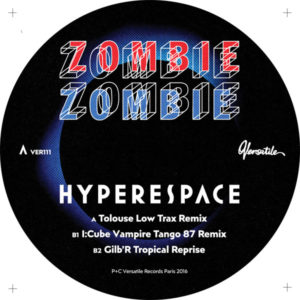 Zombie Zombie/HYPERSPACE REMIXES 12""