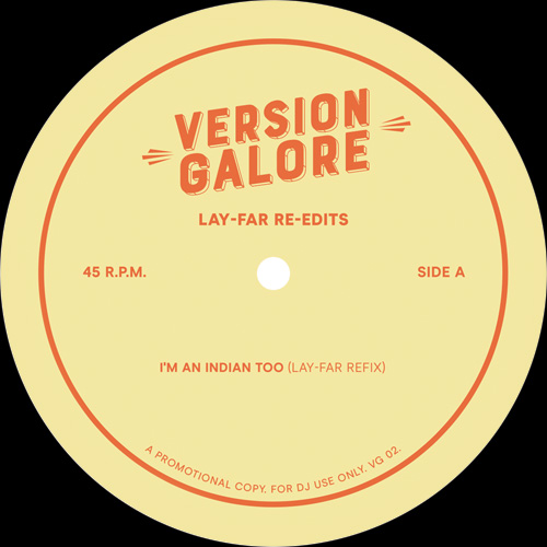 "Version Galore/LAY-FAR RE-EDITS 12"""