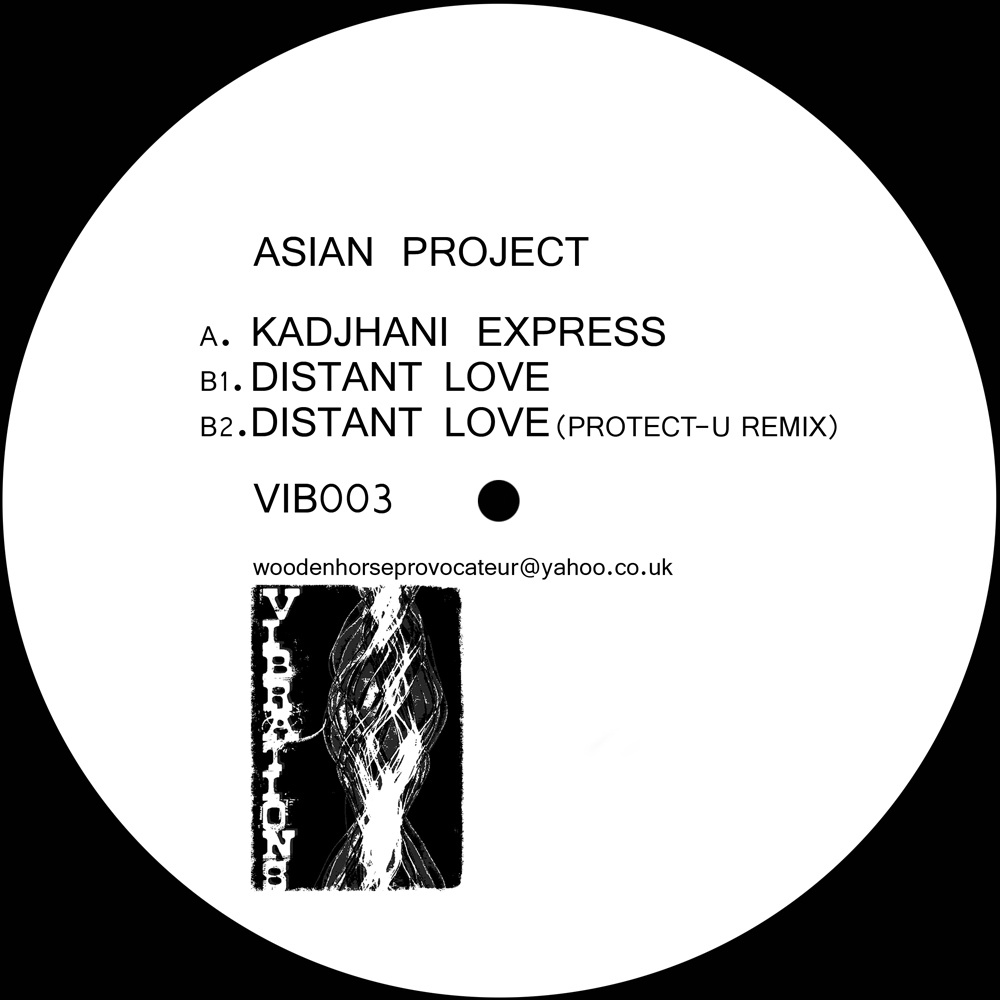 """Asian Project/DISTANT LOVE  12"""""""