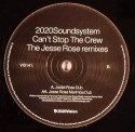 "2020 Soundsystem/CAN'T STOP..REMIX 12"""