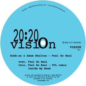 "Subb-An & AdamShelton/FEELS SO REAL 12"""