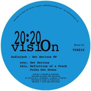 "Audiojack/GET SERIOUS EP 12"""