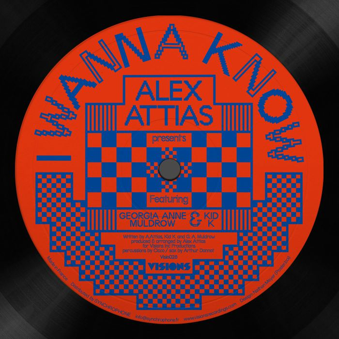 Alex Attias/I WANNA KNOW 12""