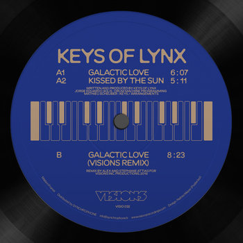 Keys Of Lynx/GALACTIC LOVE 12""