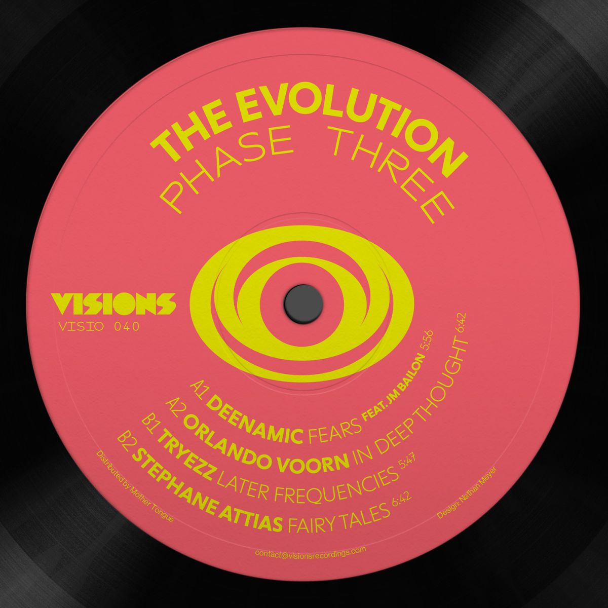 Various/THE EVOLUTION: PHASE THREE 12""